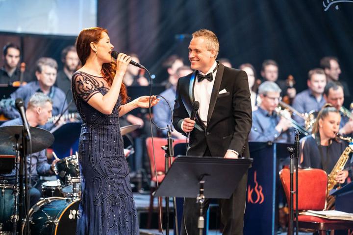"""Kolínský Big Band a Vladimír Hron  """"Vánoční hvězdy nehasnou"""""""